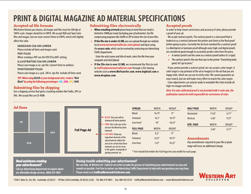 Advertising Specs Cover
