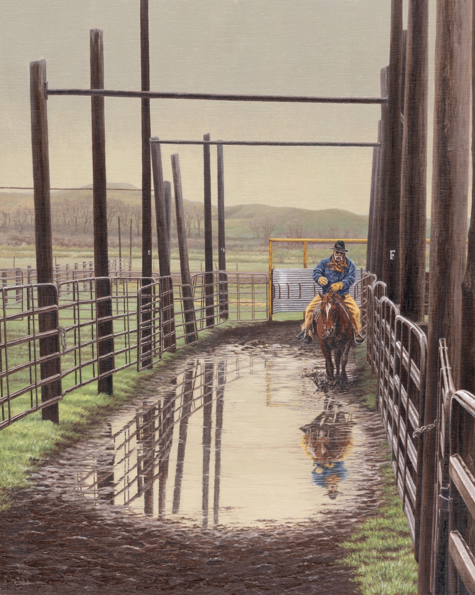 Wet Day At the Working Corrals