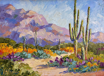 Trail of the Seven Saguaros