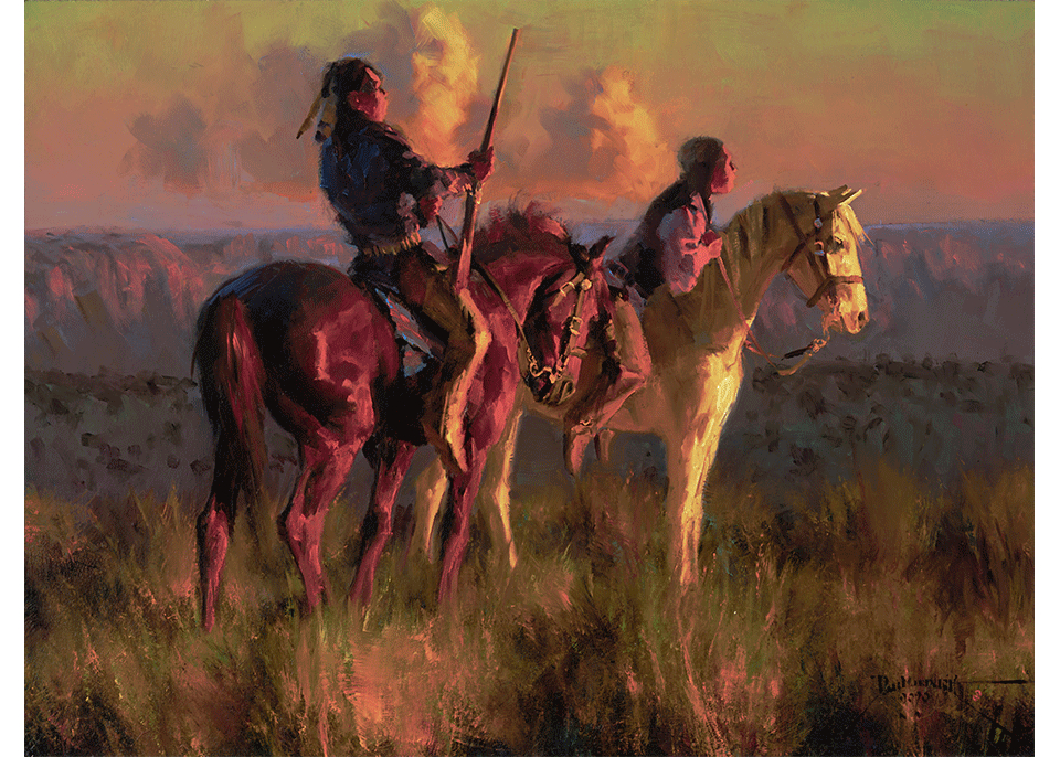 Custer's Crow Scouts