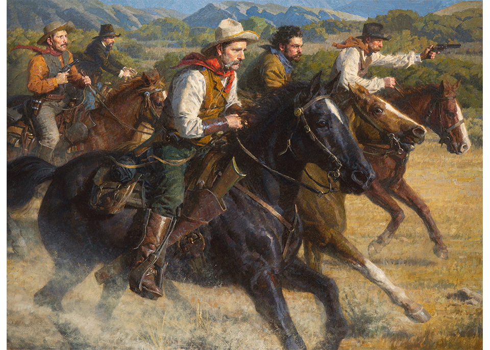 The Posse, In Pursuit of the Cook Gang, 1894