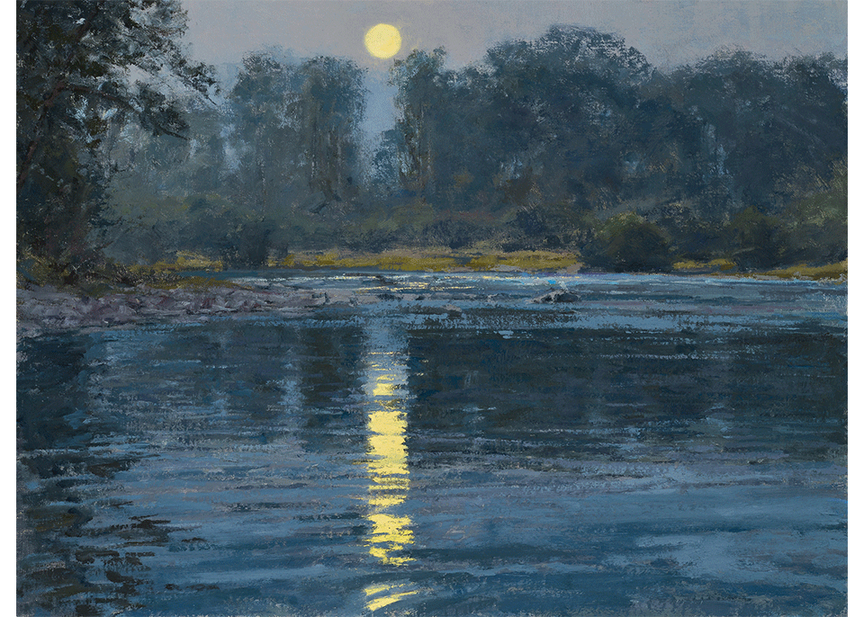 Summer Moon - New Fork River