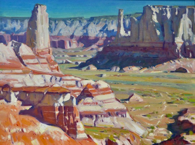 Coal Mine Canyon View (study)