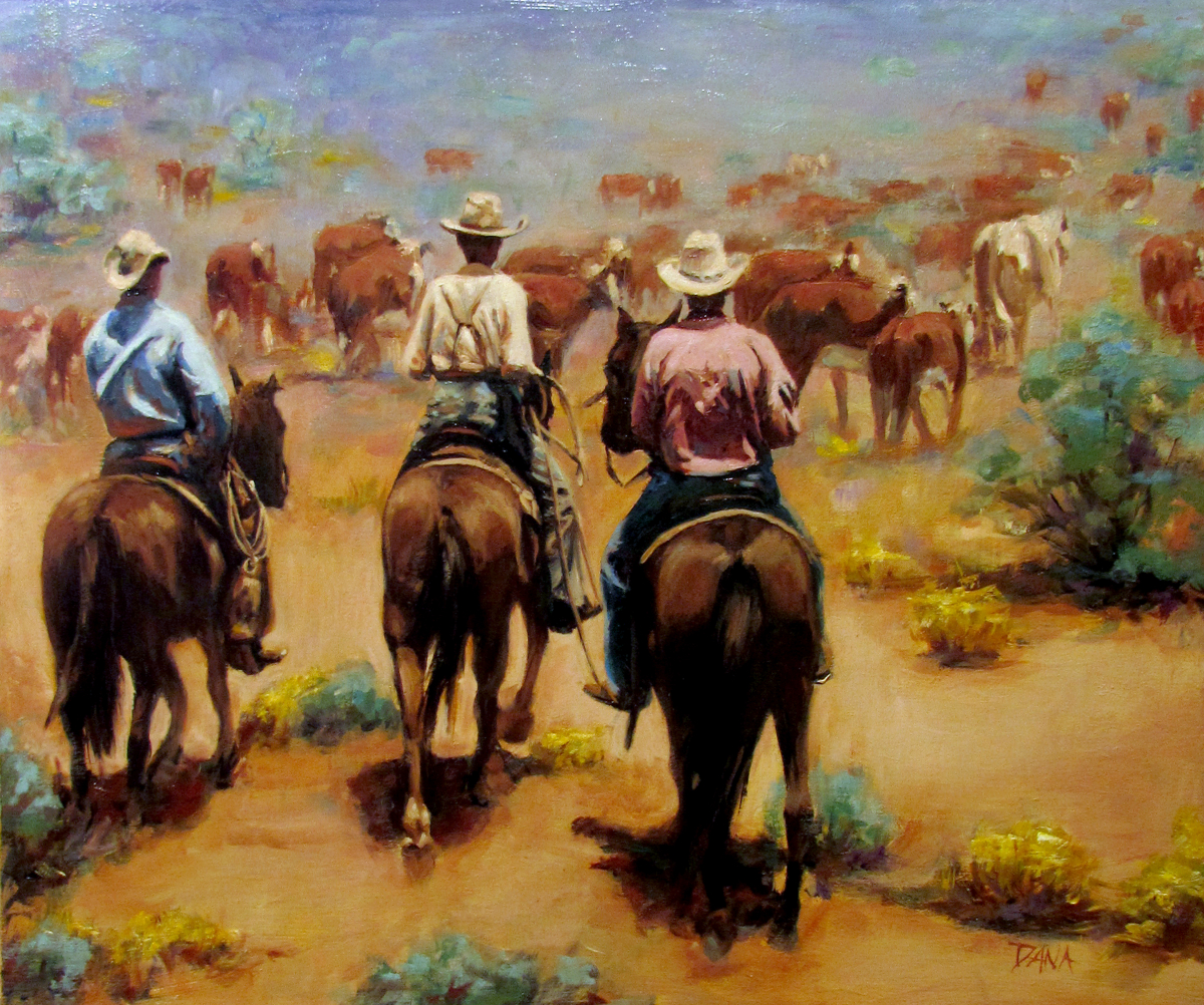 West Texas Cattle Drive