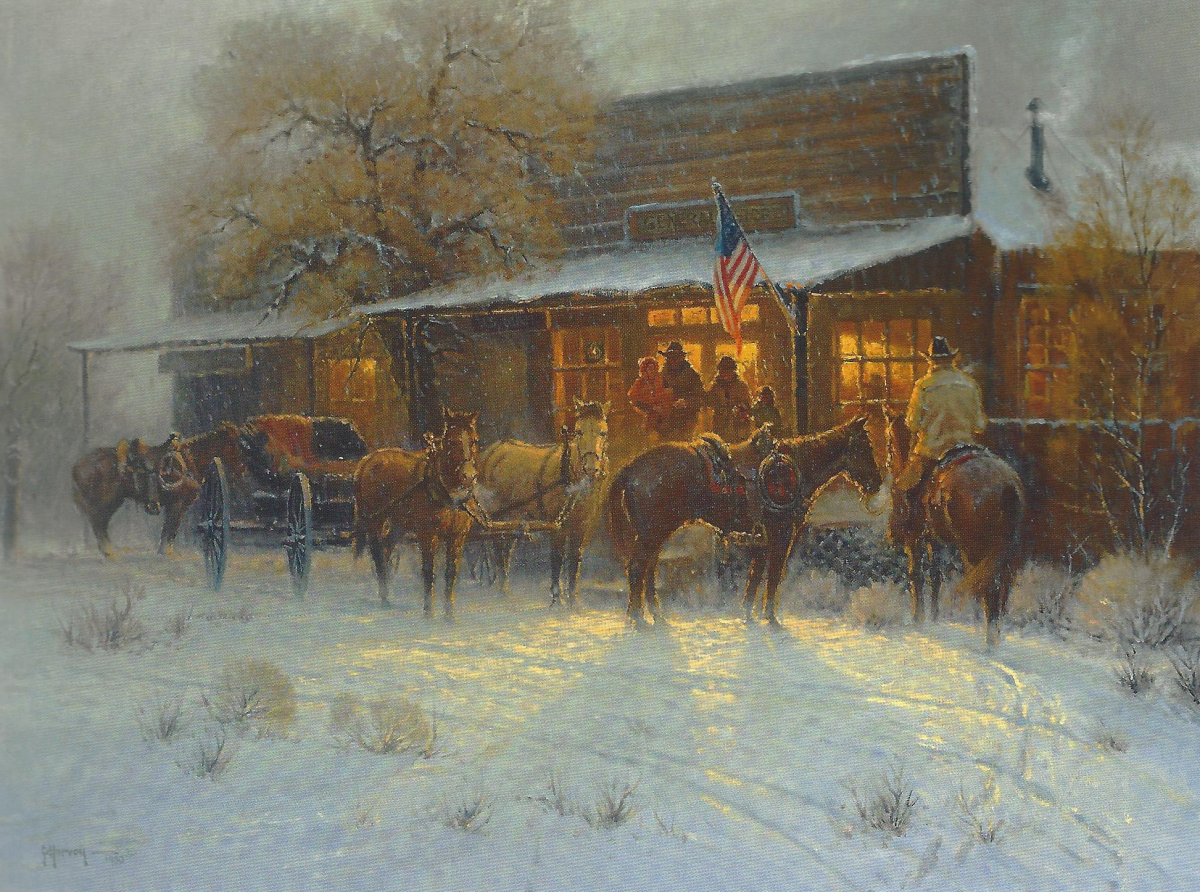 Christmas Eve at the General Store