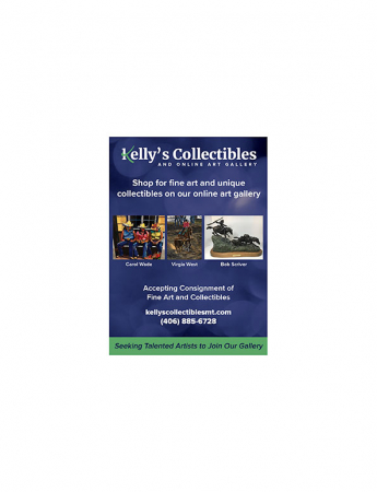 Kelly's Collectibles and Online Art Gallery