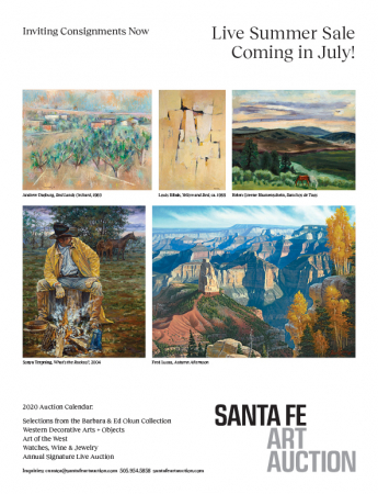 Santa Fe Art Auction: Summer Sale