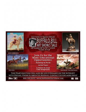 Buffalo Bill Art Show and Sale