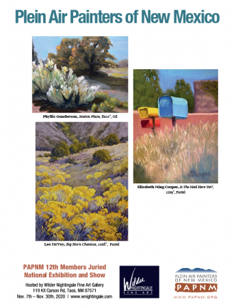 Plein Air Painters of New Mexico 12th National Juried Members Exhibition