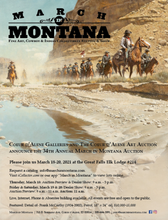 34th Annual March in Montana Auction & Dealer Show
